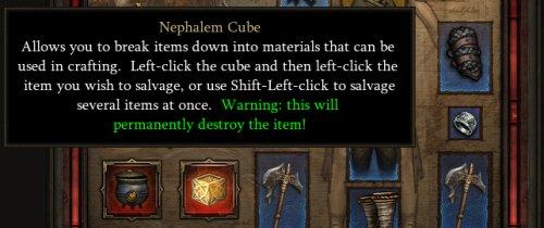 Nephalem Cube